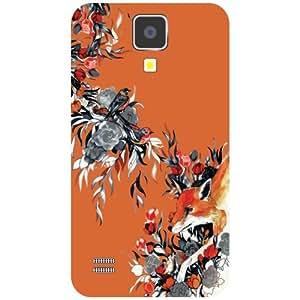 Samsung I9500 Galaxy S4 Back Cover - Floric Designer Cases