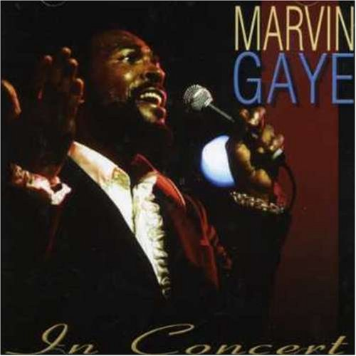 Marvin Gaye - Live in Concert - Zortam Music