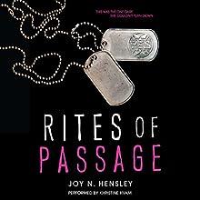 Rites of Passage (       UNABRIDGED) by Joy N. Hensley Narrated by Khristine Hvam