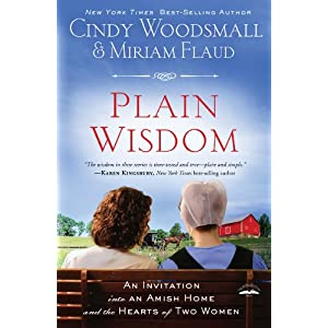 Plain Wisdom: An Invitation into an Amish Home and the Hearts of Two Woman (Christian Large Print Originals)