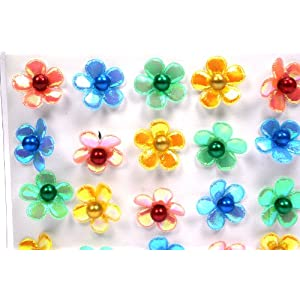Click to buy Iridescent Sparkle Flower String Lights - Set of 20 from Amazon!