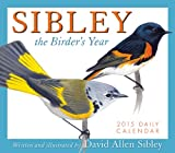 Sibley The Birders Year 2015 Boxed Calendar