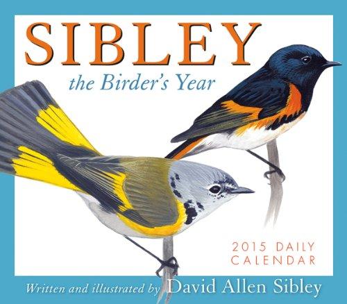 Sibley The Birder'S Year 2015 Boxed Calendar