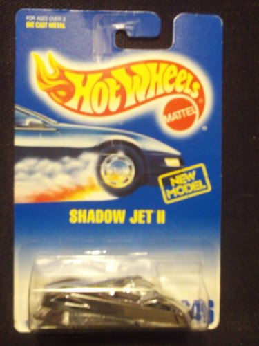Hot Wheels Shadow Jet II #246 - 1
