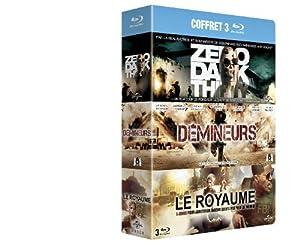 Coffret 3 films - Zero Dark Thirty + Démineurs + Le Royaume [Blu-ray]