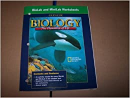 biolab and minilab worksheets for biology the dynamics of life national geographic society. Black Bedroom Furniture Sets. Home Design Ideas