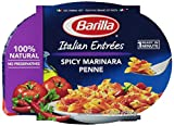 Barilla Spicy Marinara Penne Italian Entree, 9 oz, Microwavable Bowls, 6 Count
