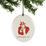 Department56 Washington dc Disk Ornament
