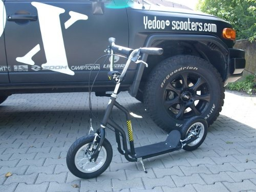 OX 12' Yedoo Scooter Tretroller black/yellow