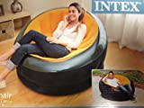 Intex Inflatable Sunny Orange Empire Chair 68582EP
