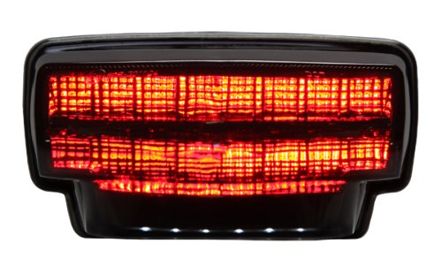 2007-2012 Honda Cbr-600Rr Integrated Sequential Led Tail Lights Smoke Lens