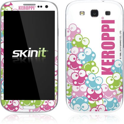 Skinit Keroppi Winking Faces Vinyl Skin for Samsung Galaxy S III