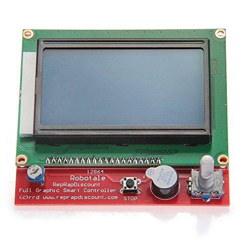 Lcd 12864 Smart Controller Display For Ramps 1.4 3D Printer