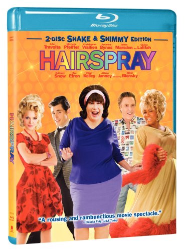 Cover art for  Hairspray (Two-Disc Shake &amp; Shimmy Edition) [Blu-ray]