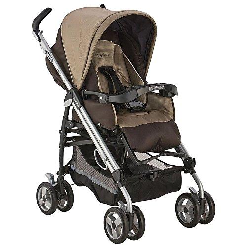 Peg-Perego Pliko Switch Stroller, Moka front-683505