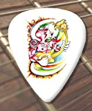 10 x Tattoo Guitar Picks Guitarist (D16) (Heavy 1.00mm)
