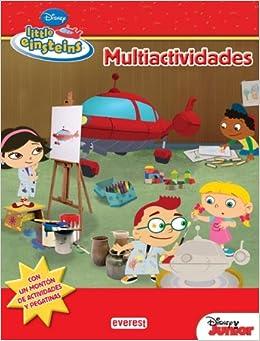 Little Einsteins. Multiactividades: Walt Disney Company: 9788444146775