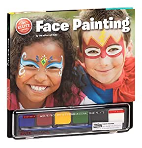 klutz face painting craft kit editors of