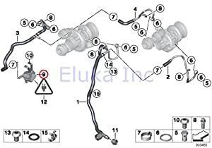 Bmw Water Pump 11517566335 moreover B00UR4PFWW further 11517586779 together with Bmw 545 as well Bmw N62 Wiring Diagrams. on bmw 550i water pump