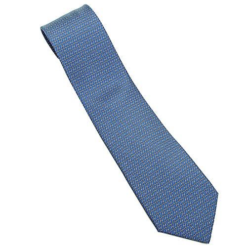 (エルメス) HERMES エルメス ネクタイ HERMES CRAVATE TWILL ネクタイ シルク100% ネクタイ AZUR/ACIER[並行輸入品]