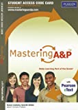 img - for MasteringA&P with Pearson eText -- Standalone Access Card -- for Human Anatomy (7th Edition) (Mastering A&P (Access Codes)) book / textbook / text book