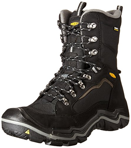 KEEN Men's Durand Polar Winter Boot, Black/Gargoyle, 10.5 M US (Keen Insulated Boots For Men compare prices)