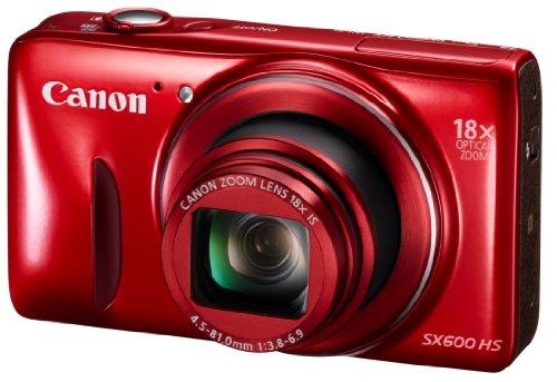 Canon デジタルカメラ Power Shot SX600 HS レッド 光学18倍ズーム PSSX600HS(RE)