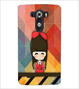PrintDhaba Cartoon D-3340 Back Case Cover for LG G3 (Multi-Coloured)