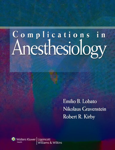 Complications in Anesthesiology, 3rd edition