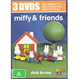 Miffy & Friends 3 DVDs (Birthday Party, Colourful World, Three Wishes)
