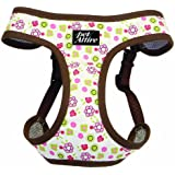 Pet Attire Designer Step-in Harness Floral, Extra Small, 16 to 19-Inch