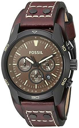 Amazon.com: Fossil Men's CH2990 Coachman Chronograph Leather Watch