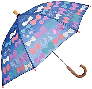 Hatley Little Girls'  Umbrella - Party Bows, Blue, One Size