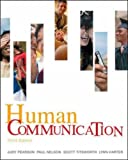 Human Communication (0073385018) by Pearson, Judy