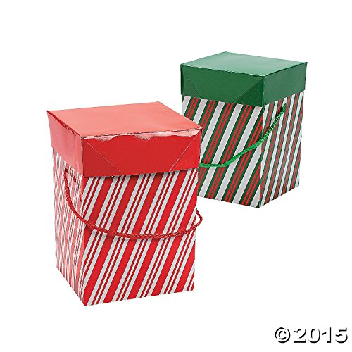 Candy Cane Gift Boxes 1DZ