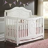 Storkcraft Princess Convertible Crib - White