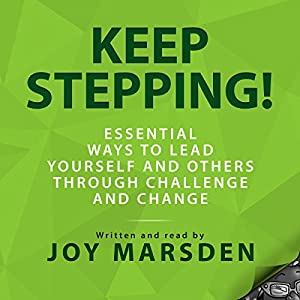 Keep Stepping! Audiobook