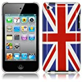 #10: Union Jack Hard Back Amour Case For iPod Touch 4 4G With Screen Protector