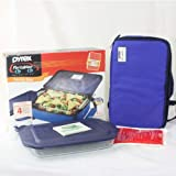 PYREX PORTABLES INSULATED FOOD CARRIER SET