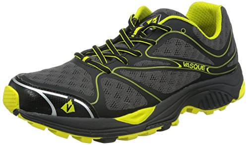 Vasque Men's Pendulum II Trail Running Shoe, Black/Blazing Yellow, 11.5 M US (Vasque Shoes compare prices)