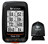 "Bryton Rider 310 GPS Cycling Computer (1.8"" display, 310C - With Cadence) Bryton"
