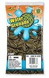 Pioneer National Latex Water Grenade Balloons Dark Green