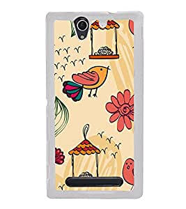 Cute Wallpaper 2D Hard Polycarbonate Designer Back Case Cover for Sony Xperia C4 Dual :: Sony Xperia C4 Dual E5333 E5343 E5363