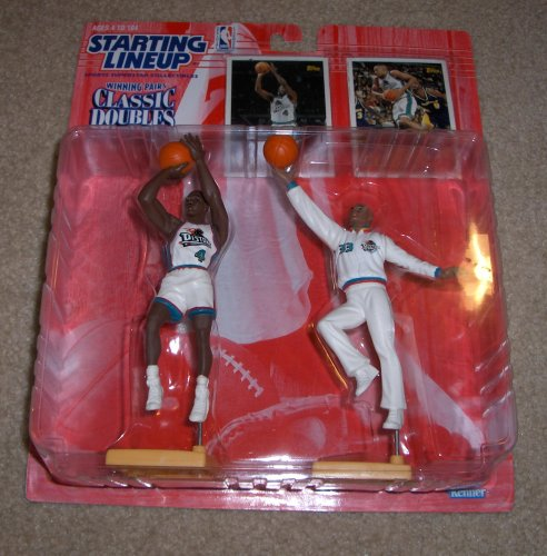 1997 Joe Dumars and Grant Hill NBA Classic Doubles Starting Lineup Figures - 1