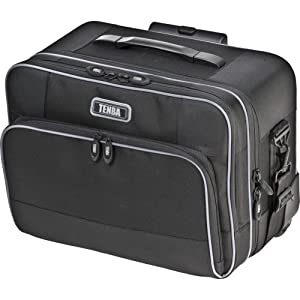 Tenba 638-321 Roadie Rolling Small Photo Case (Black)