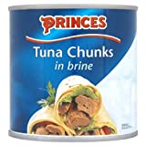Princes Tuna Chunks in Brine 6 x 400g