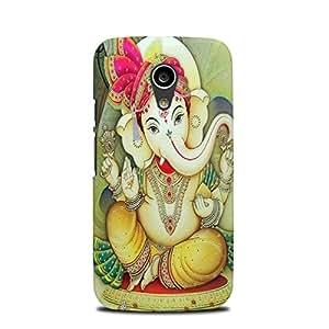 Moto G2 (2nd Generation) designer case & cover printed mobile cover Lord Ganesha