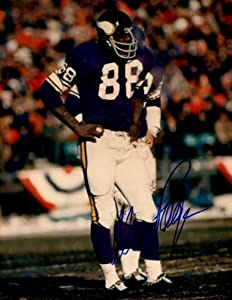 Autographed Hand Signed Alan Page 8x10 8x10 Photo - Minnesota Vikings by Hall of Fame Memorabilia