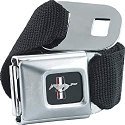 Unisex FORD MUSTANG Seatbelt Alternative Retro Belt
