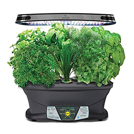 Miracle-Gro AeroGarden Extra LED Indoor Garden with Gourmet Herb Seed Pod Kit: Amazon.ca: Patio, Lawn & Garden